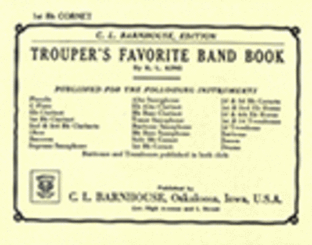 Trouper's Favorite Band Book