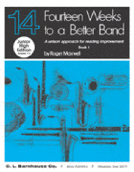 Fourteen Weeks to a Better Band, Book 1