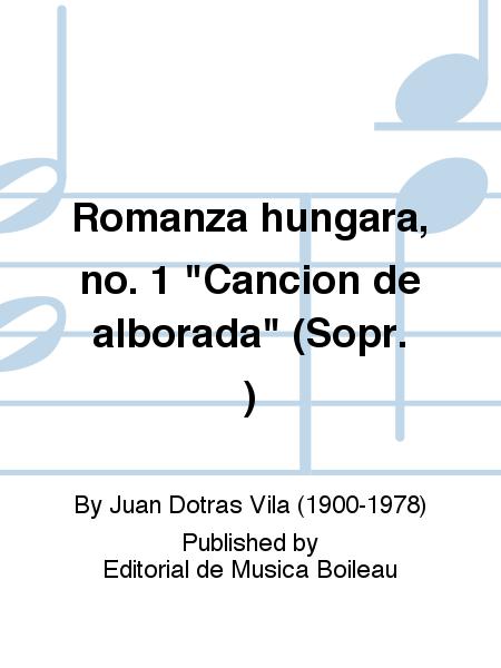 Romanza hungara, no. 1
