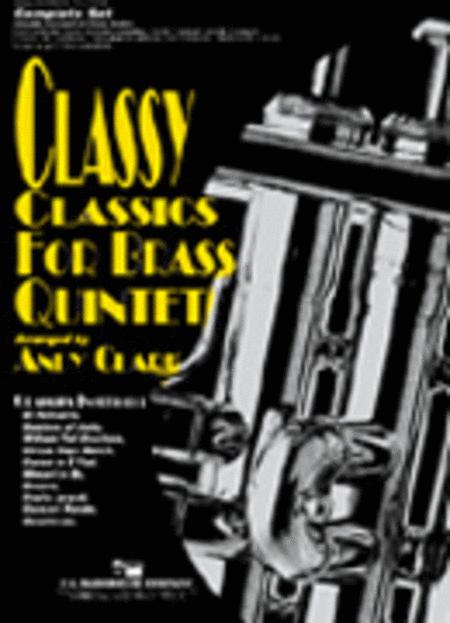 Classy Classics for Brass Quintet