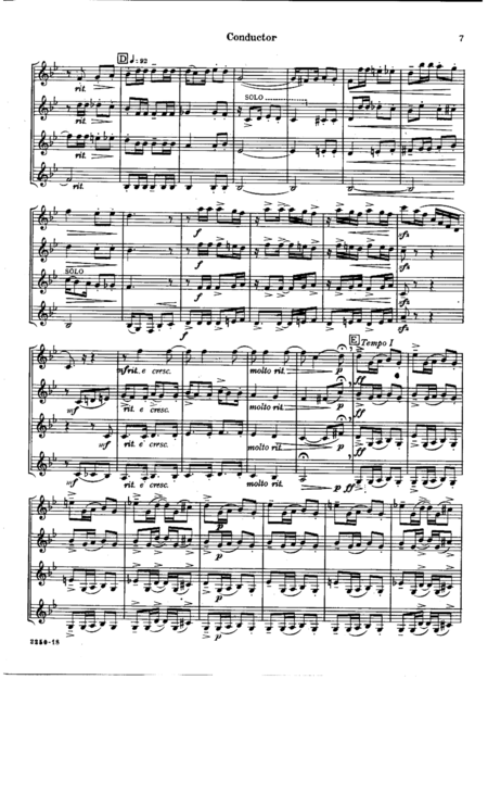 Suite for Four Equal Clarinets