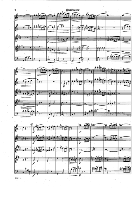 Allegretto from Symphony No. 11