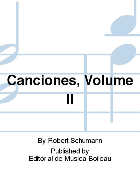 Canciones, Volume II