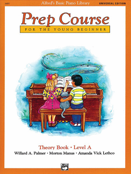 Alfred's Basic Piano Prep Course Theory Book, Book A