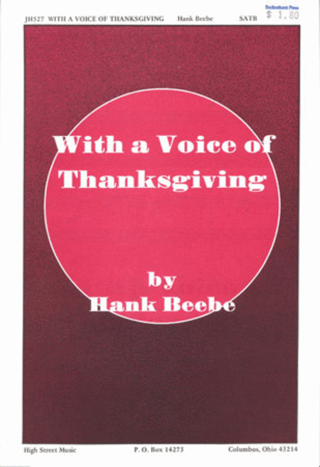 With a Voice of Thanksgiving