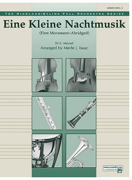 Eine Kleine Nachtmusik, 1st Movement