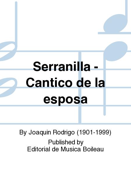 Serranilla - Cantico de la esposa