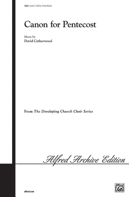Canon for Pentecost