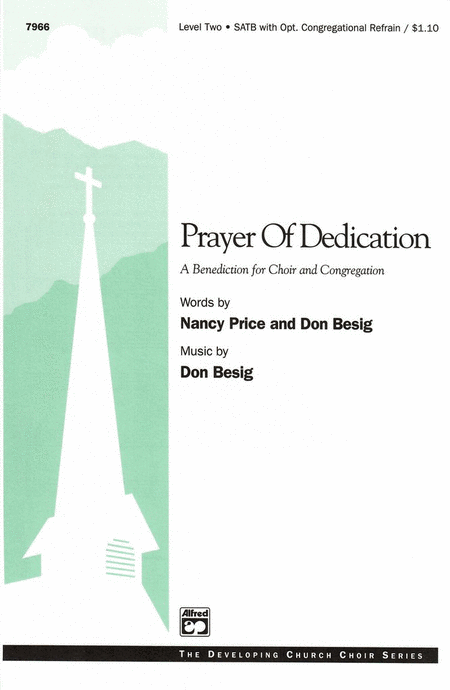 Prayer of Dedication