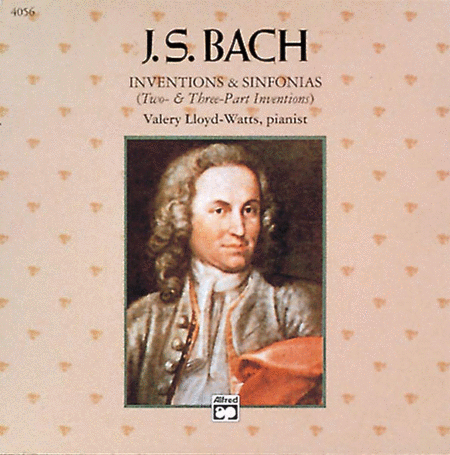 Inventions & Sinfonias - CD