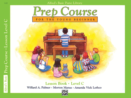 Alfred's Prep Course - Lesson Book (Level C)