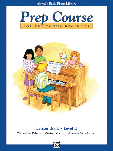 Alfred's Prep Course - Lesson Book (Level E)