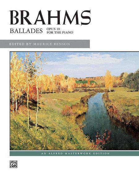 Ballades, Opus 10