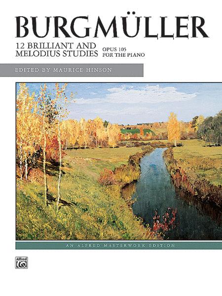Burgmüller -- 12 Brilliant Studies, Op. 105