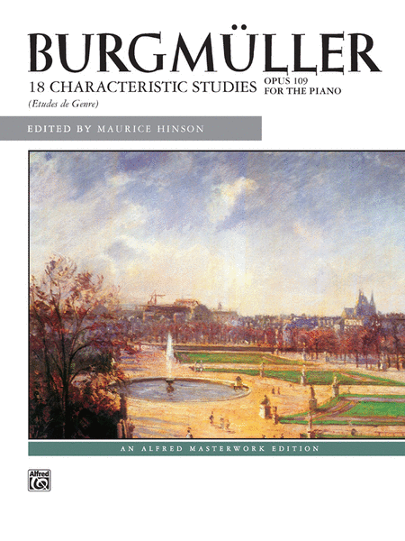 Burgmüller -- 18 Characteristic Studies, Op. 109