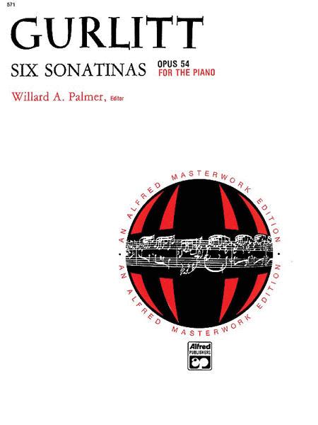Gurlitt -- 6 Sonatinas, Op. 54