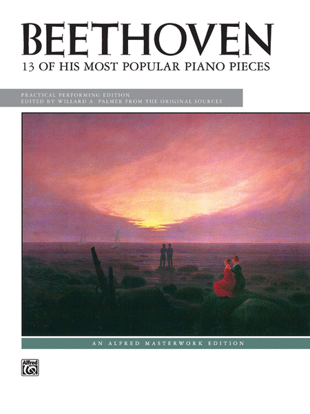 Beethoven -- 13 Most Popular Pieces