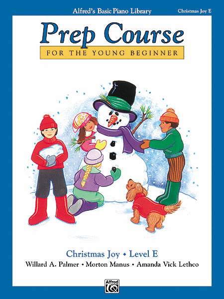 Alfred's Basic Piano Prep Course Christmas Joy!, Book E