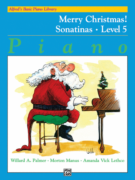 Alfred's Basic Piano Course - Merry Christmas!, Book 5