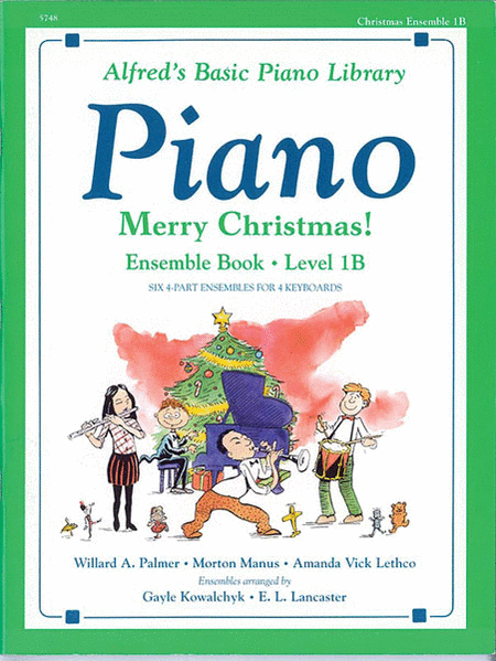 Alfred's Basic Piano Course - Merry Christmas! Ensemble Book (Level 1B)
