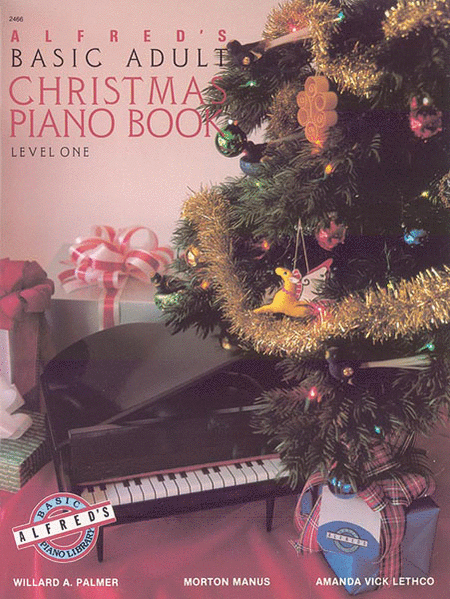 Alfred's Basic Adult Course - Christmas Piano Book (Level 1)