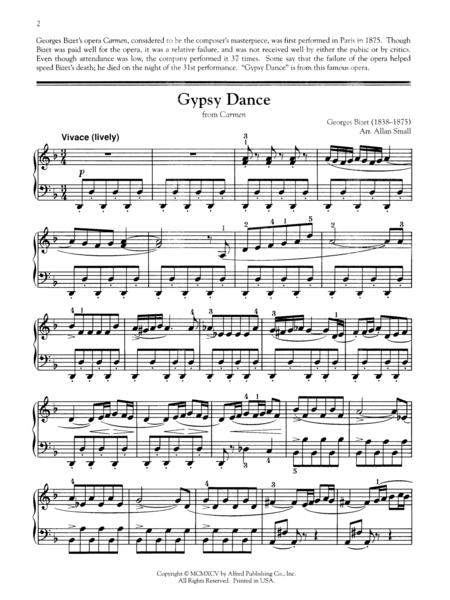 Gypsy Dance from Carmen