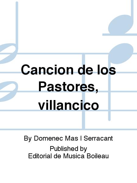 Cancion de los Pastores, villancico