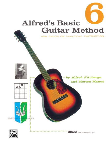 Alfred's Basic Guitar Method - Book 6 (Book Only)