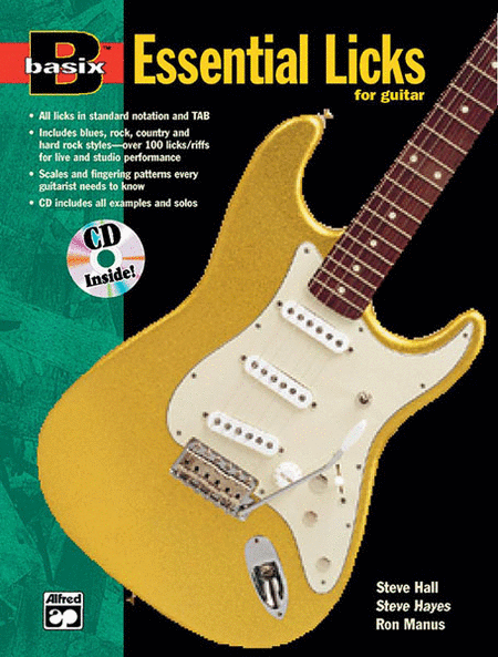 Basix Essential Licks for Guitar