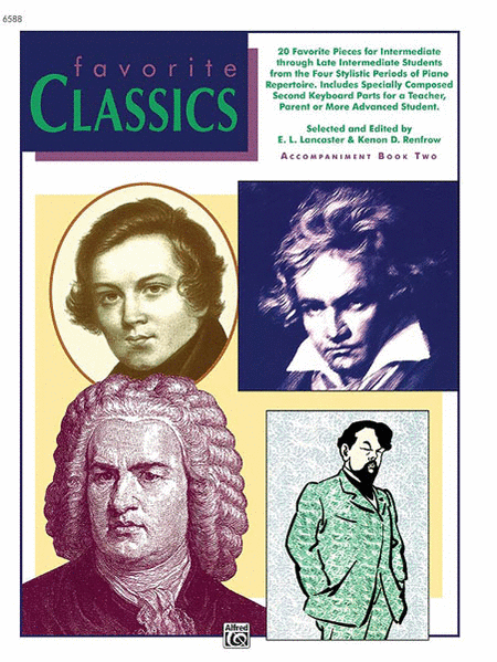 Favorite Classics: Accompaniment, Book 2