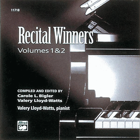 Recital Winners - Volumes 1 & 2 (Listening CD)