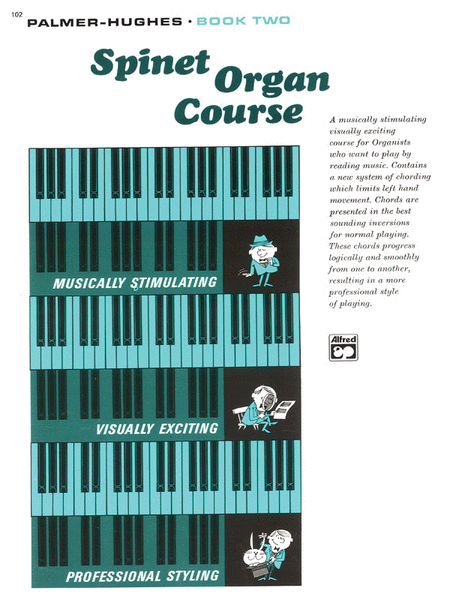 Palmer-Hughes Spinet Organ Course, Book 2