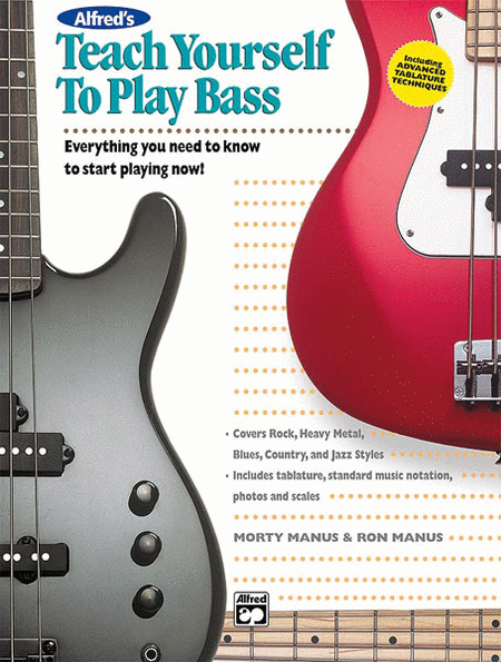 Alfred's Teach Yourself to Play Bass