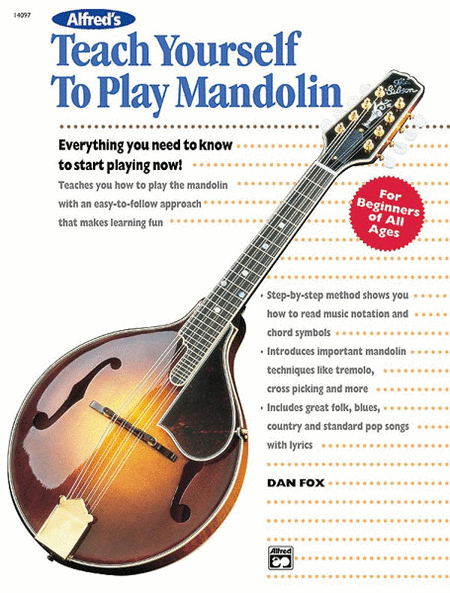 Teach Yourself To Play Mandolin - Book