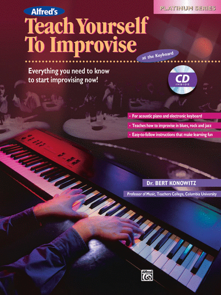 Alfred's Teach Yourself To Improvise at the Keyboard - Book/CD