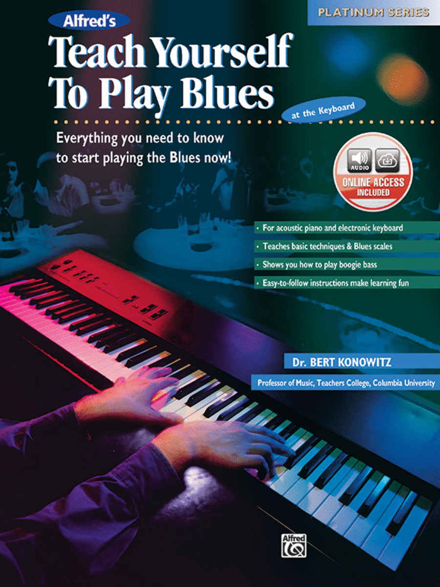 Alfred's Teach Yourself To Play Blues at the Keyboard - Book/CD