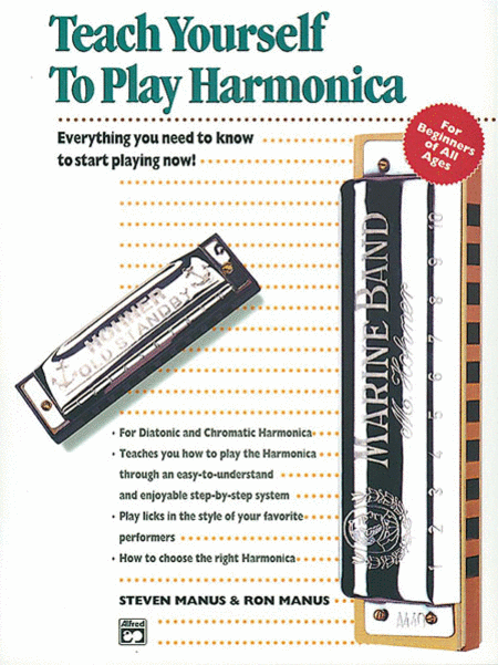 Teach Yourself To Play Harmonica - Book/Harmonica