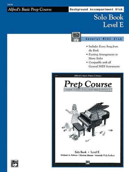 Alfred's Basic Piano Prep Course - General MIDI Disk For Solo Book Level E
