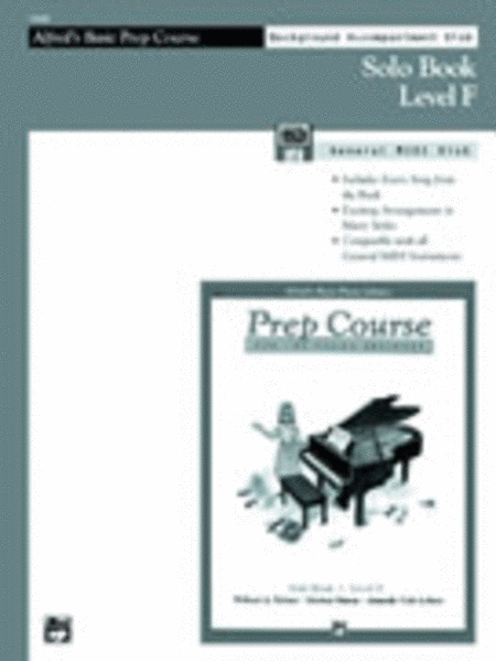 Alfred's Basic Piano Prep Course - General MIDI Disk For Solo Book Level F