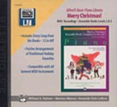 Alfred's Basic Piano Course General MIDI - Christmas Ensembles Levels 2-3