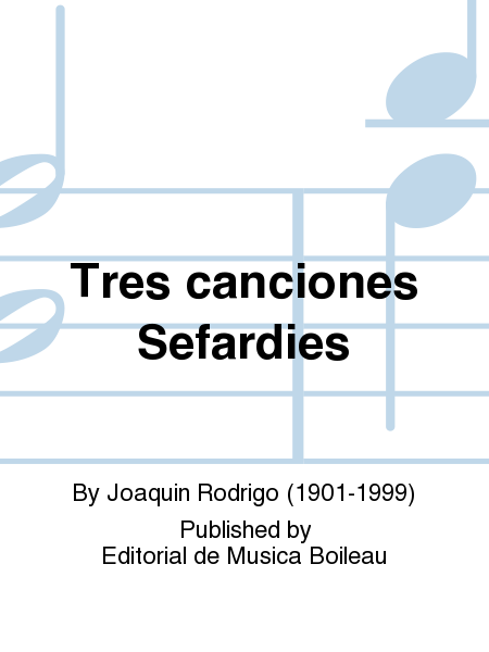 Tres canciones Sefardies