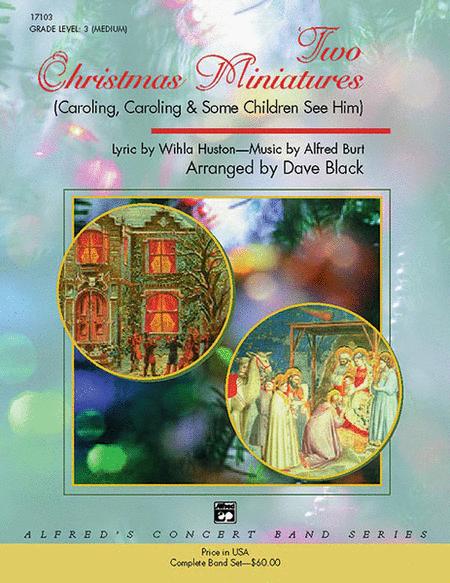 Two Christmas Miniatures