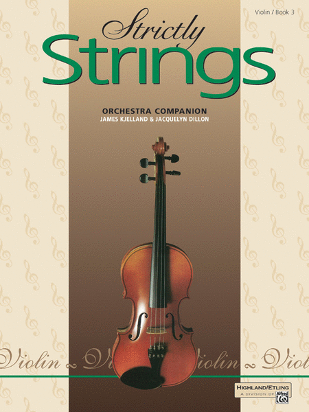 Strictly Strings - Book 3 (Violin)