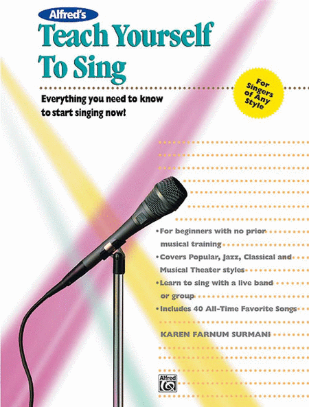 Teach Yourself To Sing - Book/CD