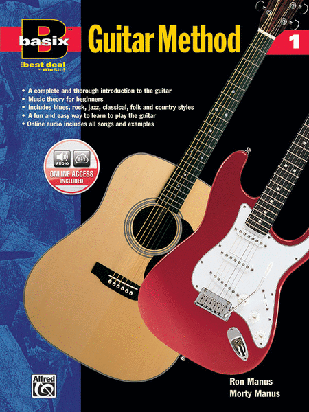 Basix Guitar Method - Book 1 (Book/Enhanced CD)