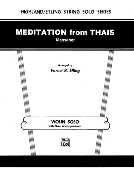Meditation from Thaïs
