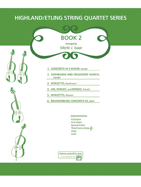 Highland/Etling String Quartet Series: Set 2