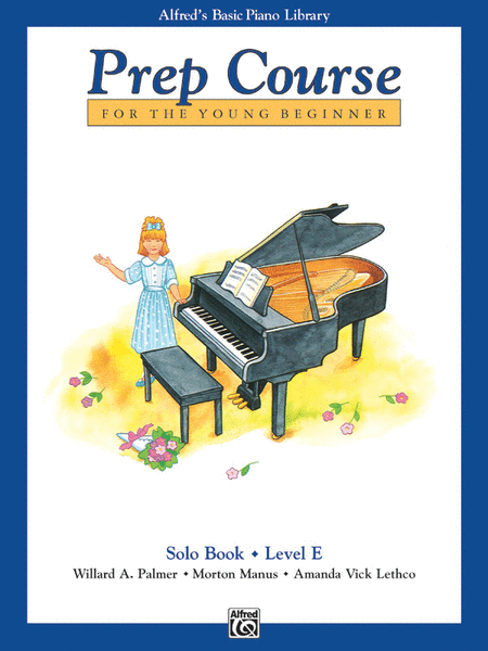 Alfred's Basic Piano Prep Course Solo Book, Book E