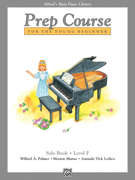 Alfred's Basic Piano Prep Course Solo Book, Book F