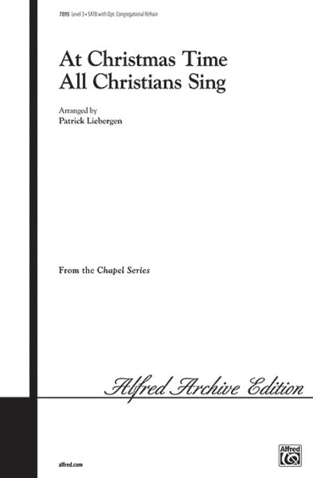 At Christmas Time All Christians Sing
